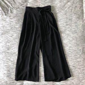 Zara High Waisted Wide Leg Trousers